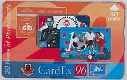 PHONE CARD-CARDEX 96GIBILTERRA (E46.13.8 - Gibraltar