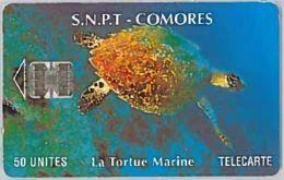 PHONE CARD-COMORES (E46.13.7 - Comoren