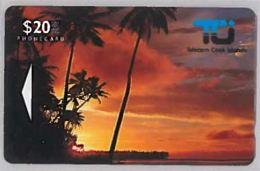 PHONE CARD-COOK ISLAND (E46.9.3 - Cookeilanden