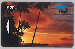 PHONE CARD-COOK ISLAND (E46.9.3 - Isole Cook