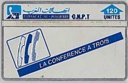 PHONE CARD-MAROCCO (E46.54.7 - Marokko