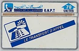 PHONE CARD-MAROCCO (E46.55.4 - Maroc
