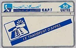 PHONE CARD-MAROCCO (E46.55.6 - Marokko
