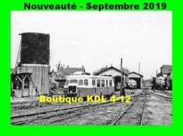 AL 594 - Autorail Billard A 80 D N° 801 Au Dépôt - EGREVILLE - Seine Et Marne - CFD - Trains