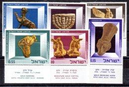 Israel Serie Nº Yvert 319/24 ** - Nuevos (con Tab)