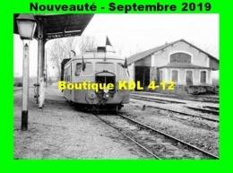 AL 596 - Autorail Billard A 80 D - Gare De L'ISLE-ANGELY - Yonne - CFD - Trains