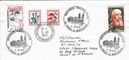 FRANCE - 1975 - Conseil De L'Europe - Lettre De Pont-à-Mousson Pour Strasbourg - Biologie Prospective - France