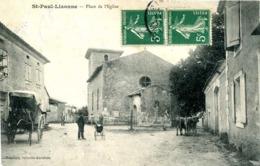 ST PAUL LIZONNE = Place De L'église     875 - France