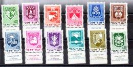 Israel Serie Nº Yvert 379/86 ** - Nuevos (con Tab)