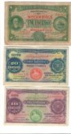 MOZAMBIQUE MOZAMBICO 10 Centavos 53 + 20 Centavos 60 + 1 Ecudo  66 1914-1921 Lotto 2831 - Mozambique
