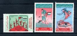 1970 YEMEN DEL SUD (People's Republic Of Southern Yemen) SET MNH ** Yv. 53/55 - Yemen