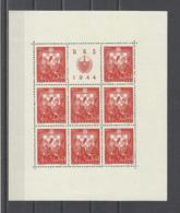 CROATIE.  YT   N° 127/130  Neuf **  1944 - Croatie