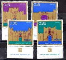 Israel Serie Nº Yvert 437/40 ** - Nuevos (con Tab)