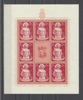 CROATIE.  YT   N° 119/122  Neuf **  1944 - Croatie