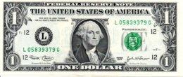 Billet 1 Dollar One Etats-Unis California 2003-12 L -Washingtone USA - TBE - California