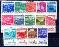 Israel Serie Nº Yvert 458/71 ** - Nuevos (con Tab)