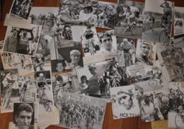 Lots De 75 Photos De Presse Concernant Le Cyclisme Années 70 Avec Merckx, Thevenet Et Autres Champions, Formats Divers - Cyclisme
