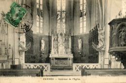 - PANNES (54) - Intérieur De L'Eglise  -20193- - France