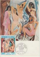 Carte-Maximum SENEGAL N°Yvert PA 61 / Picasso / Les Demoiselles D'Avignon - Sénégal (1960-...)