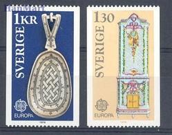Sweden 1976 Mi 943-944 MNH ( ZE3 SWD943-944 ) - Europa-CEPT