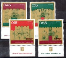 Israel Serie Nº Yvert 486/89 ** - Nuevos (con Tab)