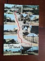 La Route Du Pétrole - Carte Géographique - Multivues - Algérie