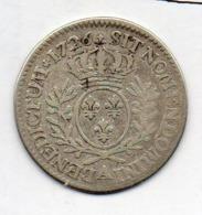 FRANCE, 24 Sols (1/5 Ecu), 1726, Silver, KM #40.1 - 987-1789 Royal