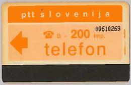 PHONE CARD-SLOVENIA (E46.3.3 - Slovénie