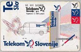 PHONE CARD-SLOVENIA (E46.5.2 - Slovénie