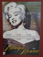 MONGOLIE 1999 BLOC 9 TIMBRES - MARILYN MONROE - Mongolie
