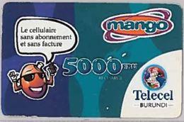 PREPAID PHONE CARD-BURUNDI (E46.5.5 - Burundi
