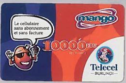 PREPAID PHONE CARD-BURUNDI (E46.11.2 - Burundi