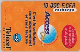 PREPAID PHONE CARD-COSTA D'AVORIO (E46.10.6 - Côte D'Ivoire