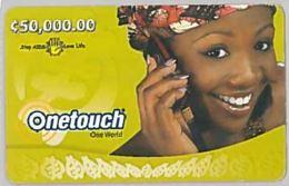 PREPAID PHONE CARD-GHANA (E46.3.1 - Ghana