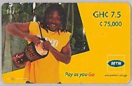 PREPAID PHONE CARD-GHANA (E46.12.3 - Ghana