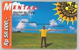 PREPAID PHONE CARD-INDONESIA (E46.43.2 - Indonesia