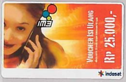 PREPAID PHONE CARD-INDONESIA (E46.43.4 - Indonesia