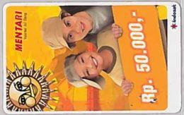 PREPAID PHONE CARD-INDONESIA (E46.45.5 - Indonesië