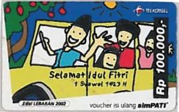 PREPAID PHONE CARD-INDONESIA (E46.45.7 - Indonesia