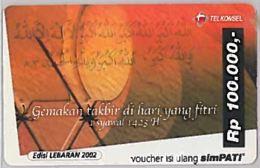 PREPAID PHONE CARD-INDONESIA (E46.45.8 - Indonesia
