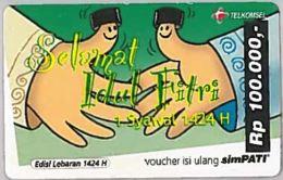 PREPAID PHONE CARD-INDONESIA (E46.46.1 - Indonesia
