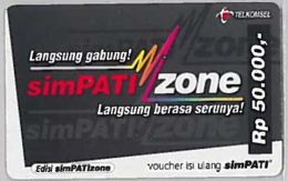 PREPAID PHONE CARD-INDONESIA (E46.46.3 - Indonesië