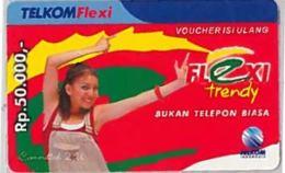 PREPAID PHONE CARD-INDONESIA (E46.46.6 - Indonesia