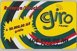 PREPAID PHONE CARD-MOZAMBICO (E46.8.6 - Moçambique