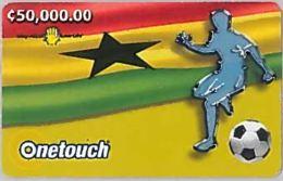 PREPAID PHONE CARD-NEW-GHANA (E46.5.3 - Ghana