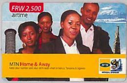 PREPAID PHONE CARD-RWANDA (E46.5.6 - Rwanda