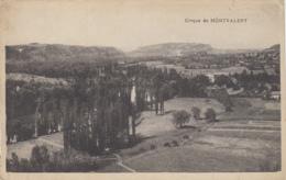 "Montvalent 46 - Panorama Cirque De Montvalent - Correspondance 1933 Vélo Cycle ""Lutecia"" - Unclassified"
