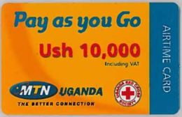 PREPAID PHONE CARD-UGANDA (E46.5.4 - Uganda
