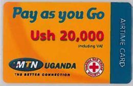 PREPAID PHONE CARD-UGANDA (E46.14.5 - Uganda