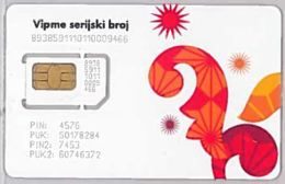 SIM CARD NOT ACTIVEMACEDONIA (E46.42.6 - Macédoine